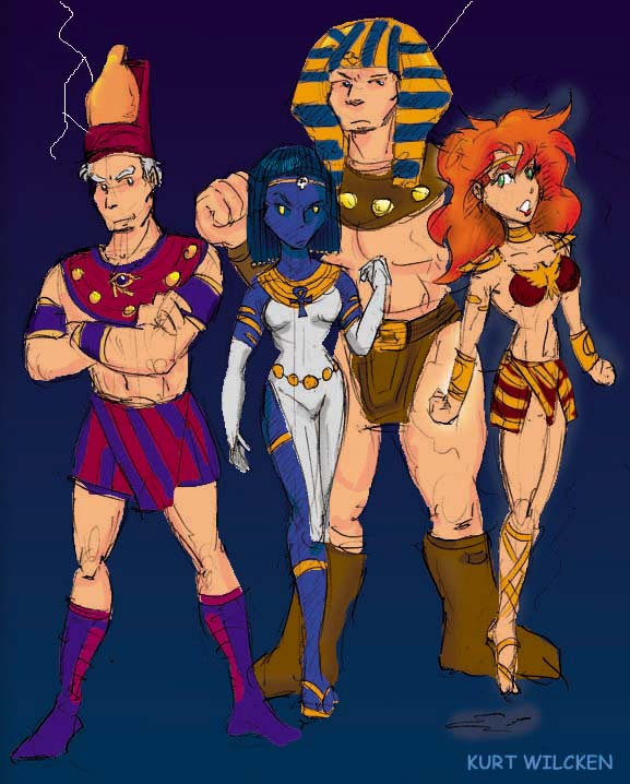 Apocalypse X Men Four Horsemen