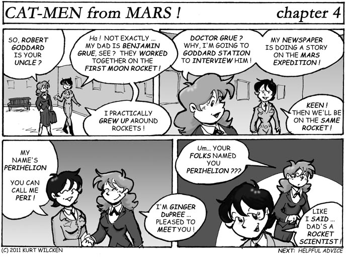 CAT-MEN from MARS:  Chapter 4