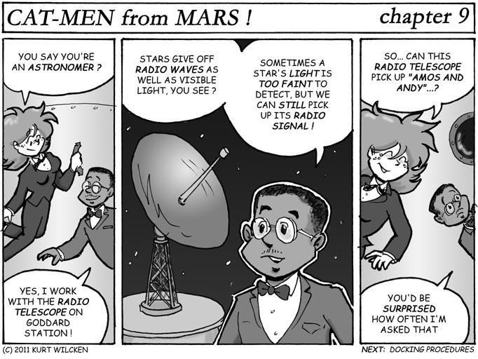 CAT-MEN from MARS:  Chapter 9 — Radio Stargazer