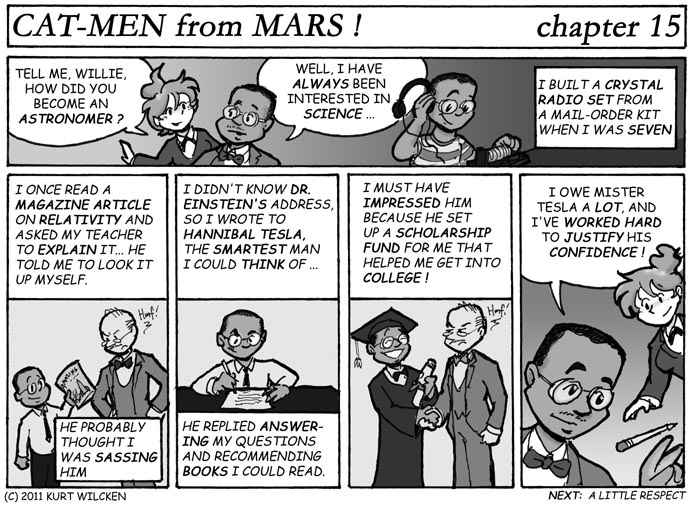 CAT-MEN from MARS:  Chapter 15 — Willie's Story