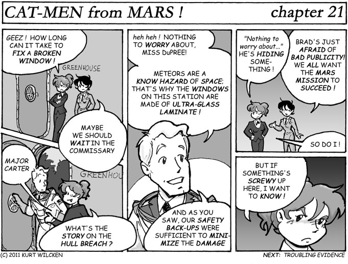 CAT-MEN from MARS:  Chapter 21 — The Old Stonewall