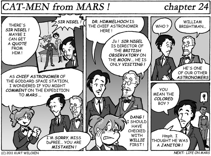 CAT-MEN from MARS:  Chapter 24 — Mistaken Identities
