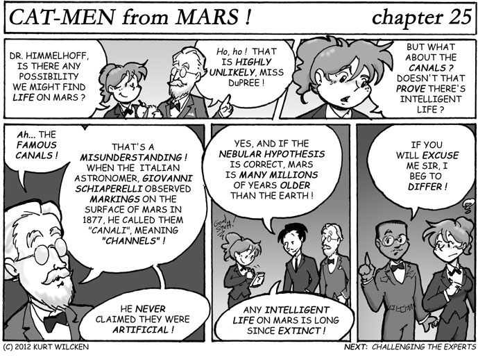 CAT-MEN from MARS:  Chapter 25 — Life on Mars