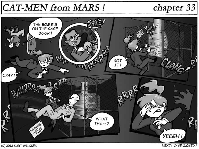 CAT-MEN from MARS:  Chapter 33 — Deadly Countdown