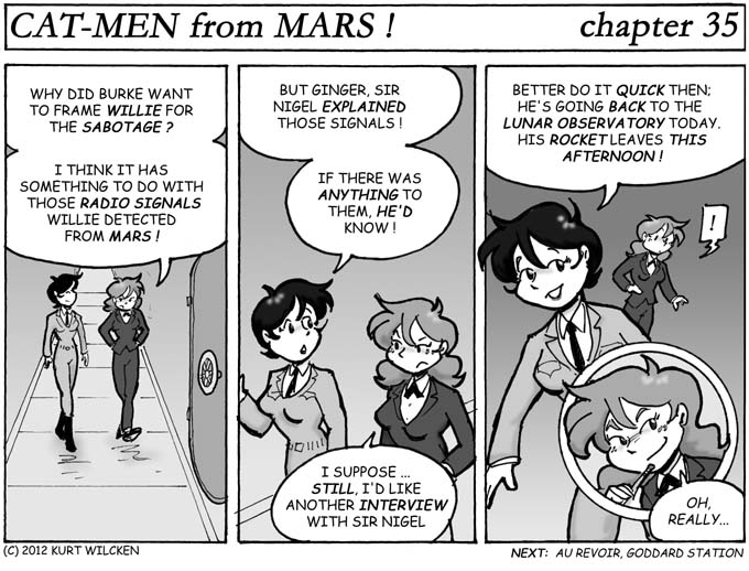 CAT-MEN from MARS:  Chapter 35 — Loose Ends