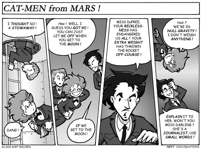 CAT-MEN from MARS:  Chapter 38 — Out of Hiding
