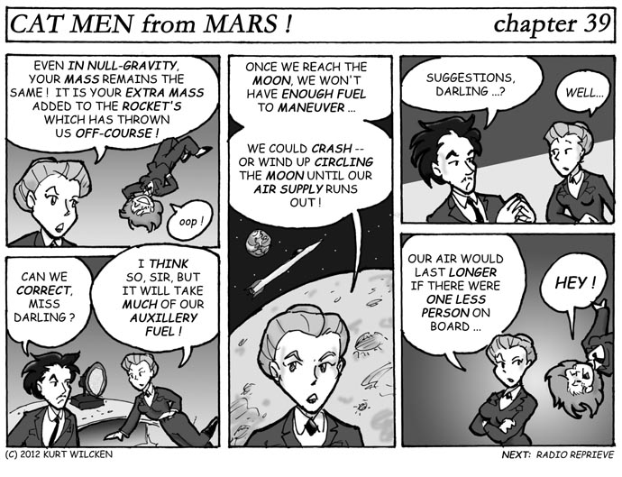 CAT-MEN from MARS:  Chapter 39 — Cold Equations