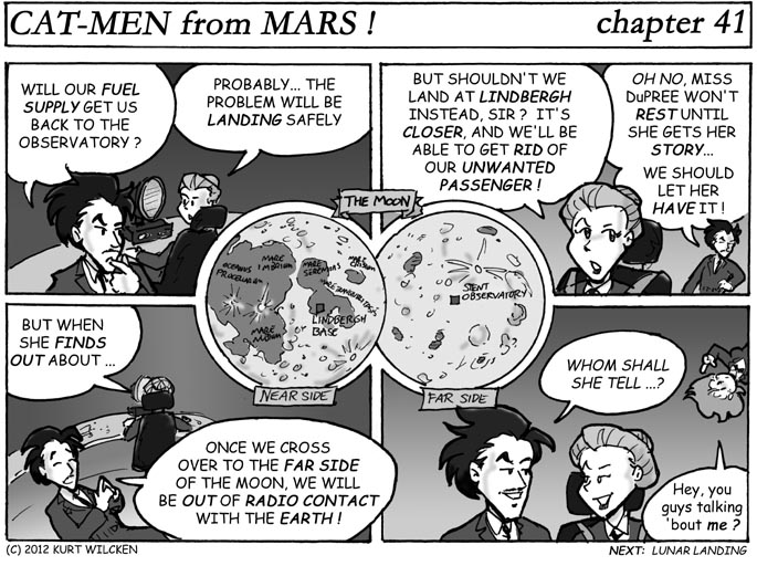 CAT-MEN from MARS:  Chapter 41 — Unwanted Baggage