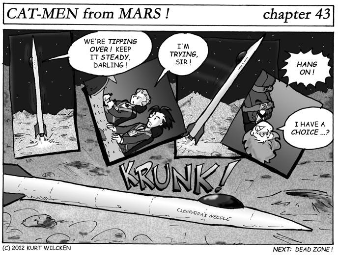 CAT-MEN from MARS:  Chapter 43 — Needle Drop