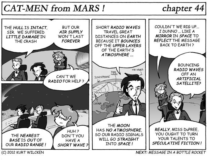 CAT-MEN from MARS:  Chapter 44 — Dead Zone