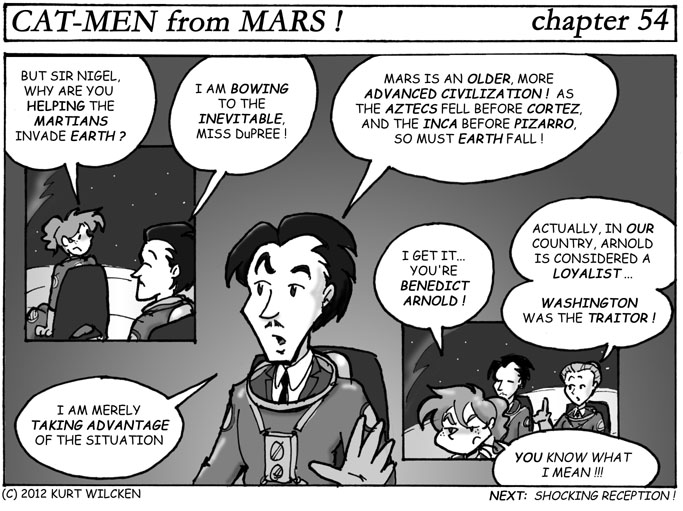 CAT-MEN from MARS:  Chapter 54 — You Can't Fight Fate