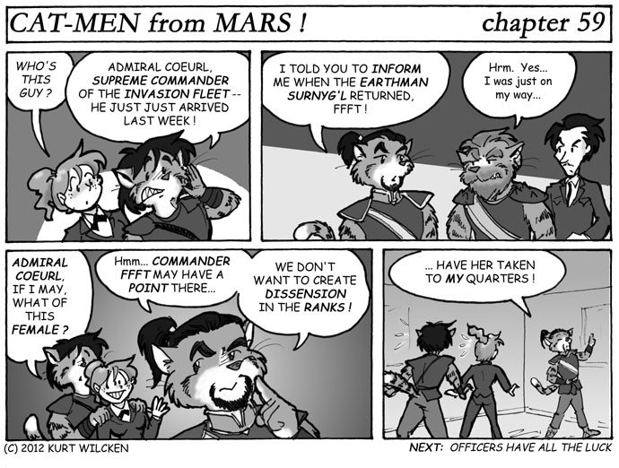 CAT-MEN from MARS:  Chapter 59 — Decision of Solomon