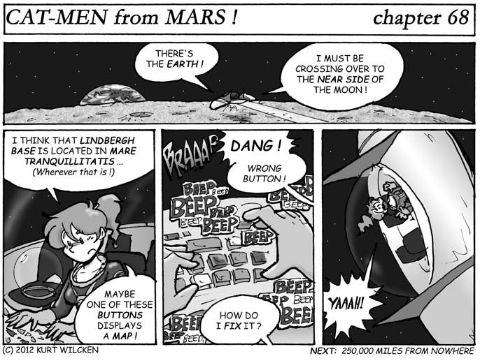 CAT-MEN from MARS:  Chapter 68 — Look In the Glove Compartment