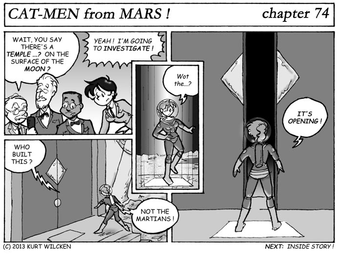 CAT-MEN from MARS:  Chapter 74 — Seeing the Sights