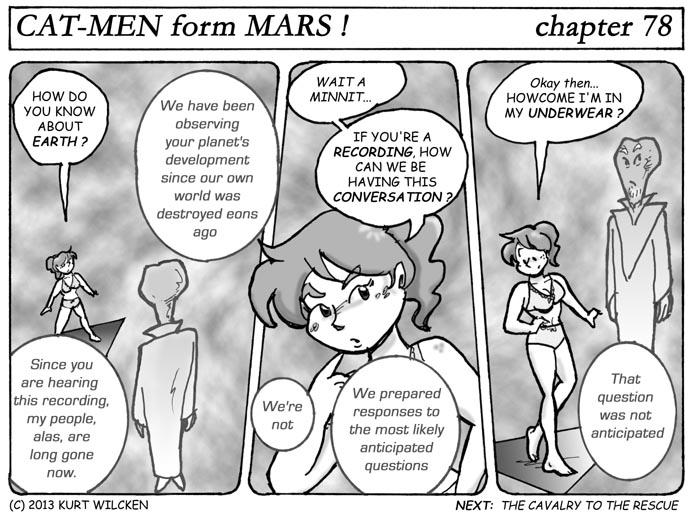 CAT-MEN from MARS:  Chapter 78 — Frequently Asked Questions