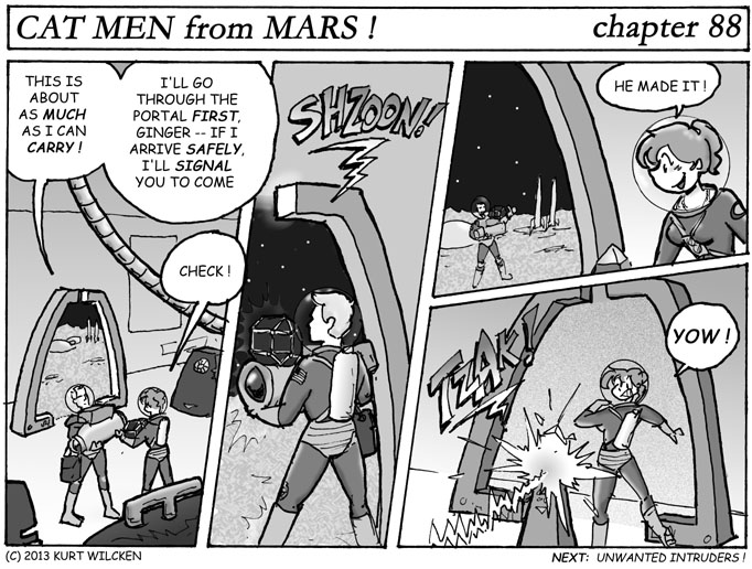 CAT-MEN from MARS:  Chapter 88 — One Small Step