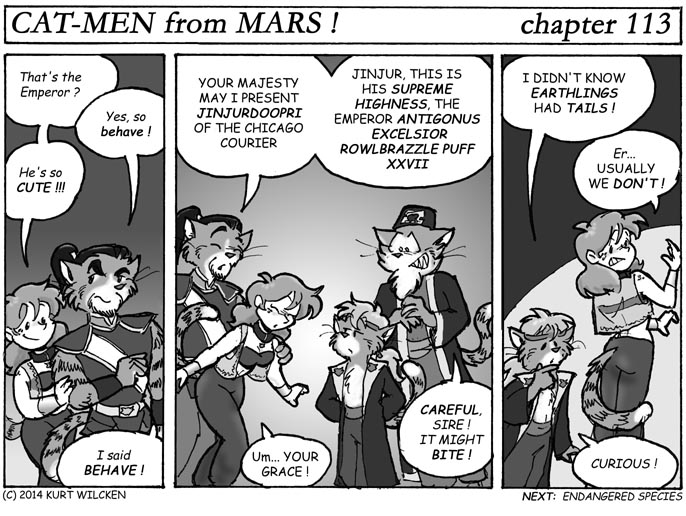 CAT-MEN from MARS:  Chapter 113 — Introductions Are In Order