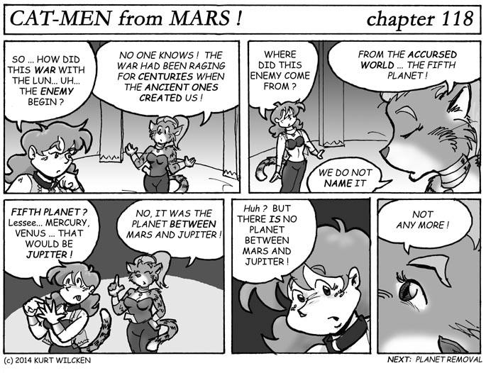 CAT-MEN from MARS:  Chapter 118 — Accursed Planet