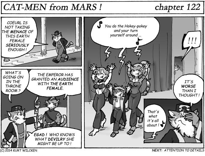 CAT-MEN from MARS:  Chapter 122 — Corrupter of Youth