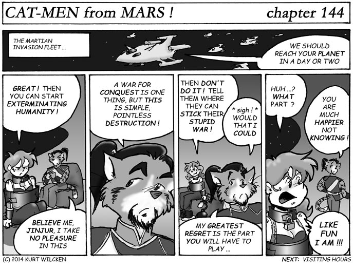 CAT-MEN from MARS:  Chapter 144 — You Don't Want To Know