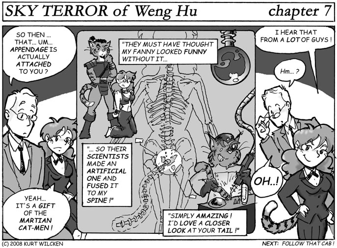 SKY TERROR of Weng Hu:  Chapter 7 — Miss DuPree's Tale