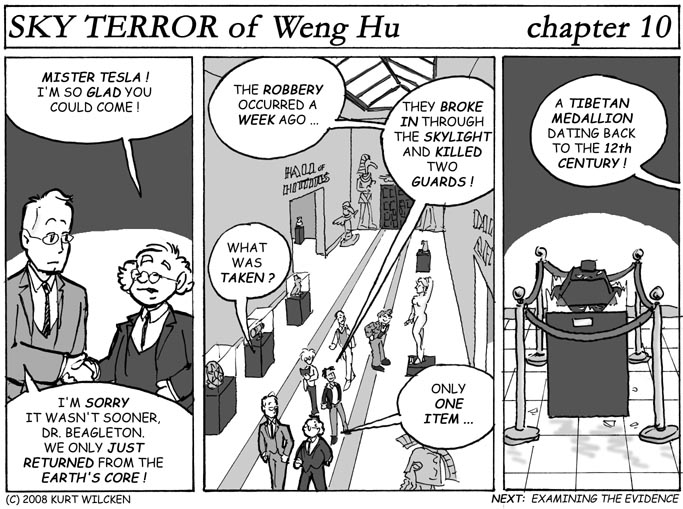 SKY TERROR of Weng Hu:  Chapter 10 — The Missing Medallion