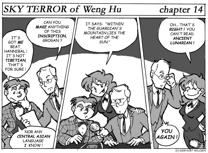 SKY TERROR of Weng Hu:  Chapter 14 — Difficulties in Translation