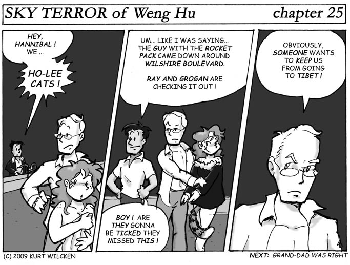 SKY TERROR of Weng Hu:  Chapter 25 — Participating in a Cover-Up