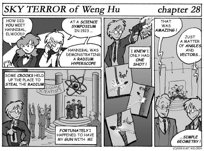 SKY TERROR of Weng Hu:  Chapter 28 — Elwood Braun, Applied Mathematician