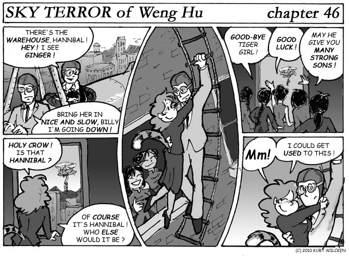 SKY TERROR of Weng Hu:  Chapter 46 — Carried Away