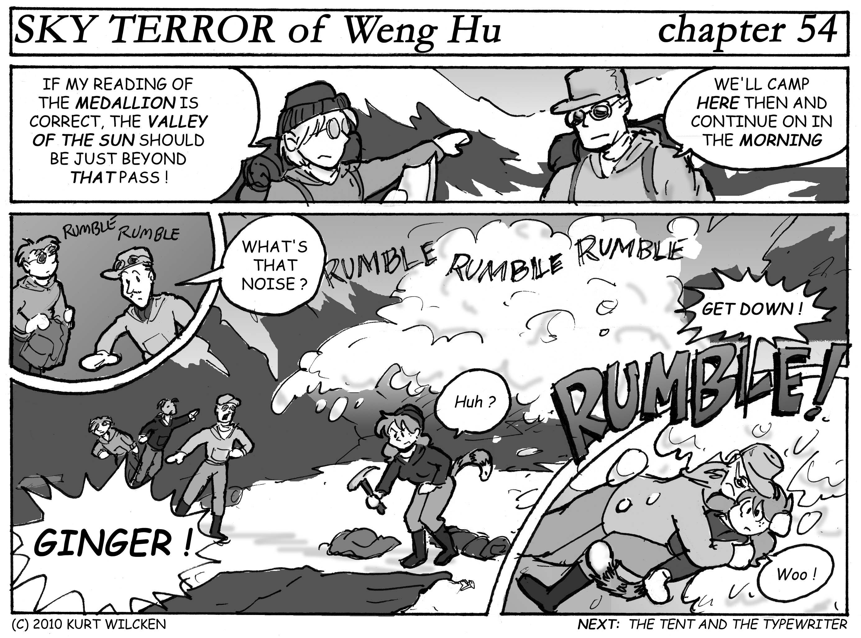 SKY TERROR of Weng Hu:  Chapter 54 — Ready to Rumble