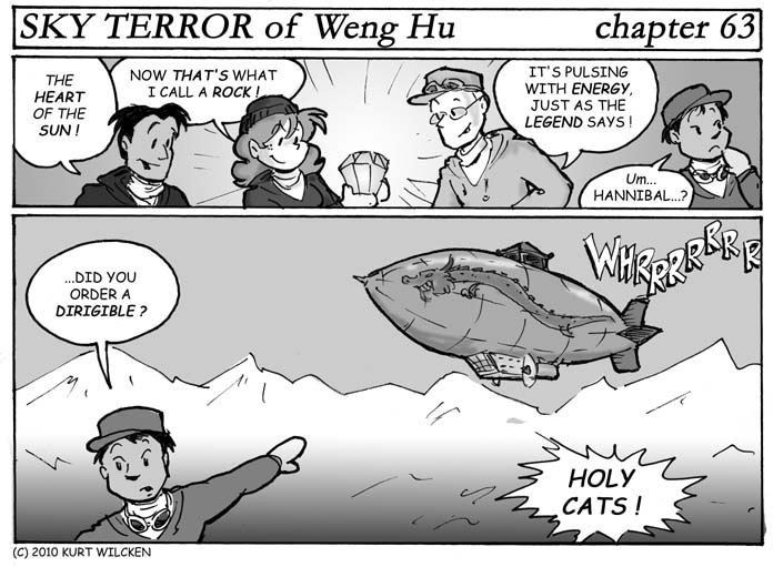 SKY TERROR of Weng Hu:  Chapter 63 — Danger In the Air