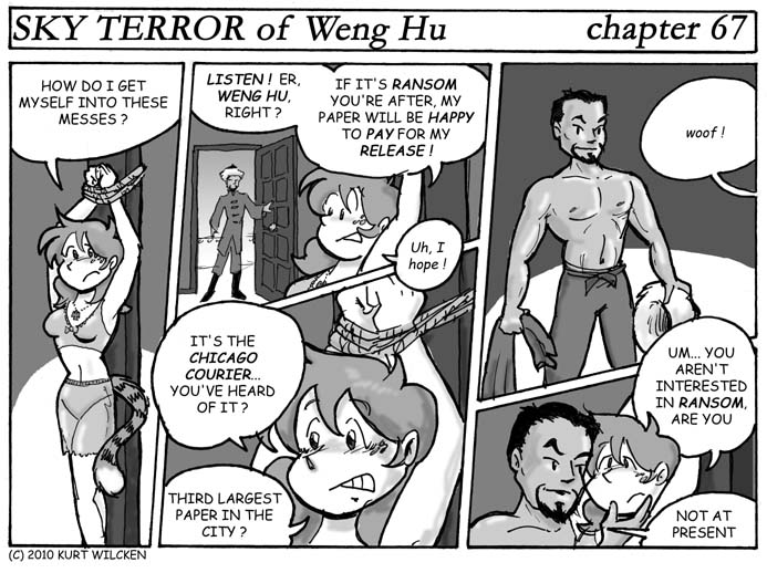 SKY TERROR of Weng Hu:  Chapter 67 — Hostage Negotiations