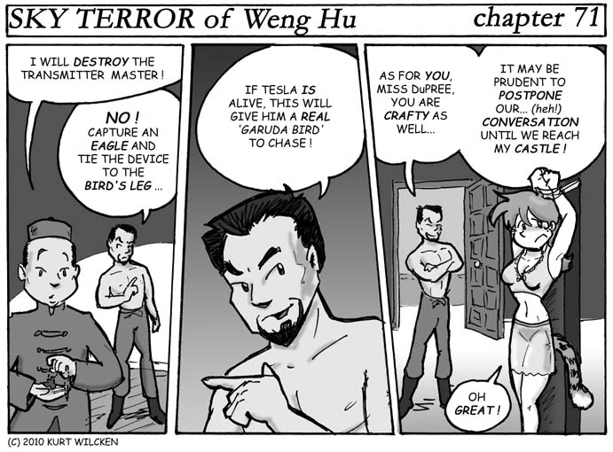 SKY TERROR of Weng Hu:  Chapter 71 — Wild Garuda Chase