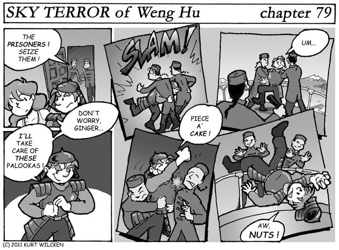 SKY TERROR of Weng Hu:  Chapter 79 — A Piece of Cake