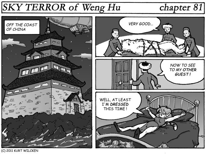 SKY TERROR of Weng Hu:  Chapter 81 — Hu's Headquarters