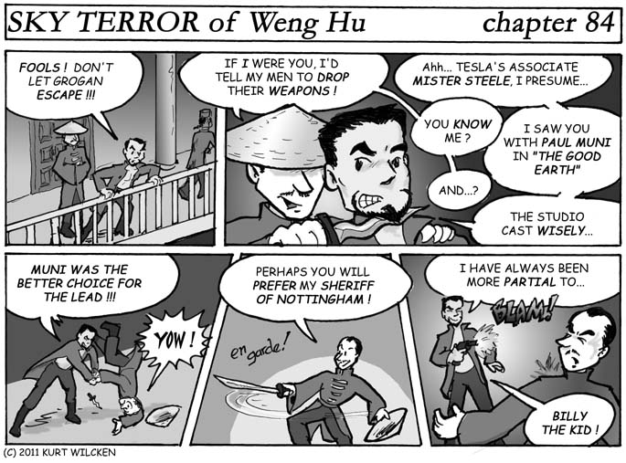 SKY TERROR of Weng Hu:  Chapter 84 — Critical Pan