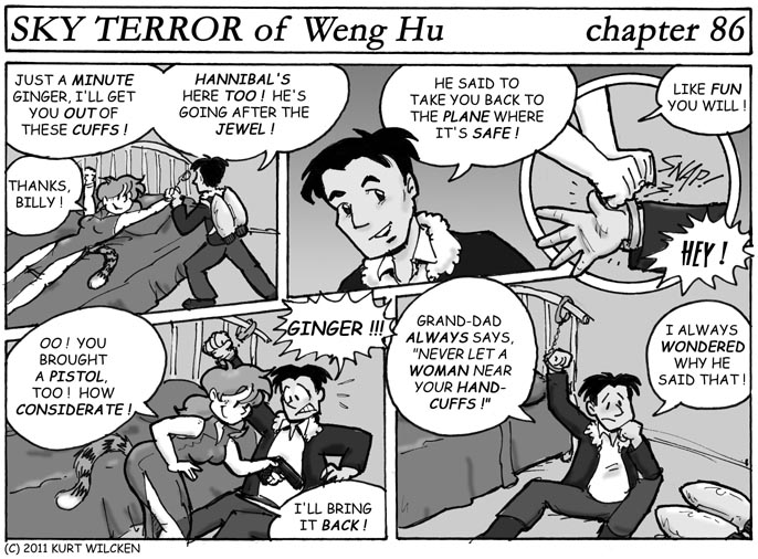 SKY TERROR of Weng Hu:  Chapter 86 — No Good Deed …