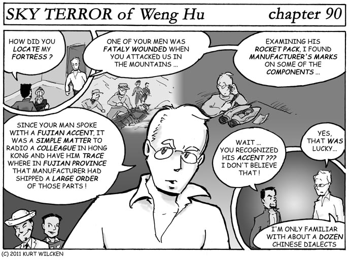 SKY TERROR of Weng Hu:  Chapter 90 — It Was Quite Elementary