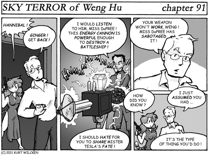 SKY TERROR of Weng Hu:  Chapter 91 — Ready … Aim …