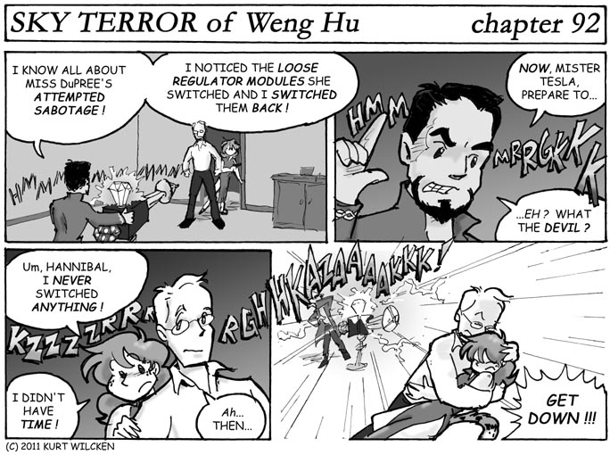SKY TERROR of Weng Hu:  Chapter 92 — Outsmarted ?