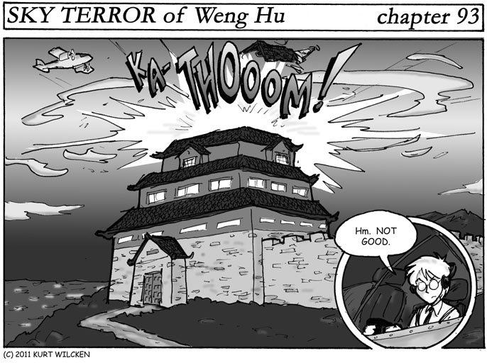 SKY TERROR of Weng Hu:  Chapter 93 — A Little Off the Top