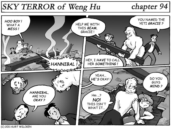 SKY TERROR of Weng Hu:  Chapter 94 — I'm Sure There's An Explanation