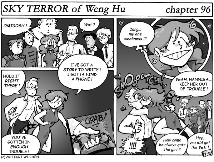SKY TERROR of Weng Hu:  Chapter 96 –End of the Tale