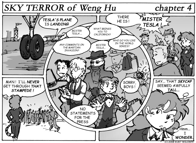 SKY TERROR of Weng Hu:  Chapter 4 — Feeding Frenzy