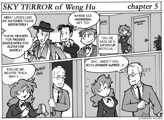 SKY TERROR of Weng Hu:  Chapter 5 — Ambush Journalism