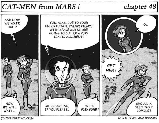 CAT-MEN from MARS:  Chapter 48 — What Now ?
