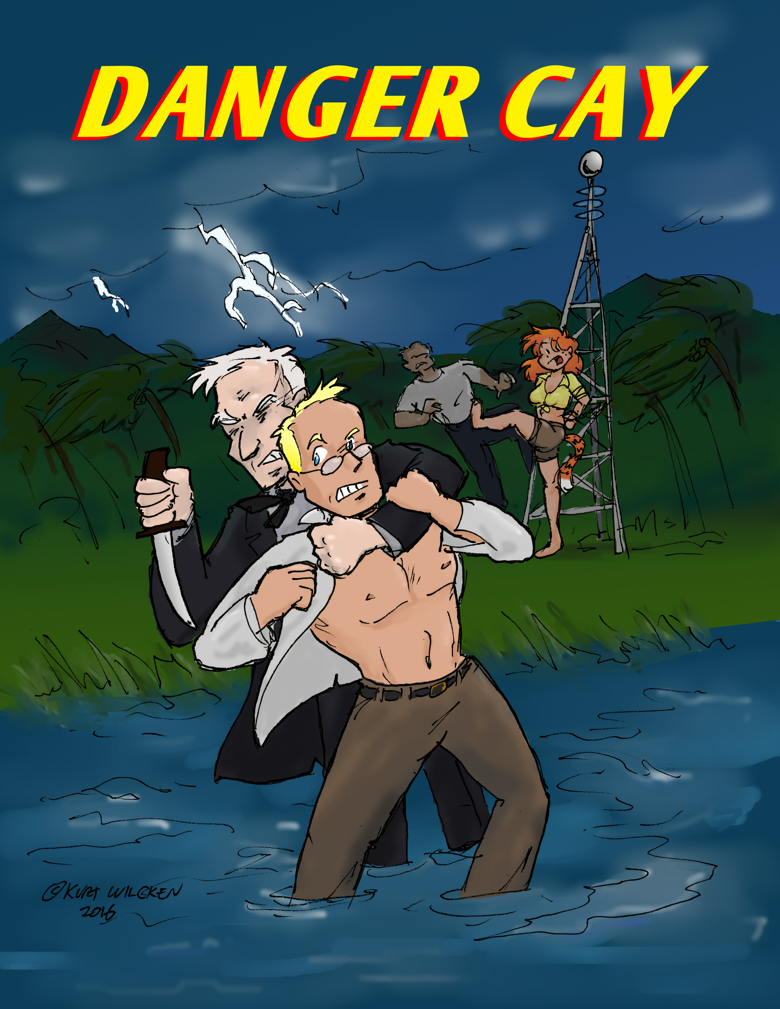 DANGER CAY:  Cover