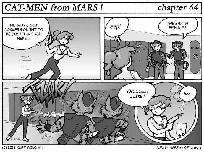 CAT-MEN from MARS:  Chapter 64 — Every Girl Should Have One