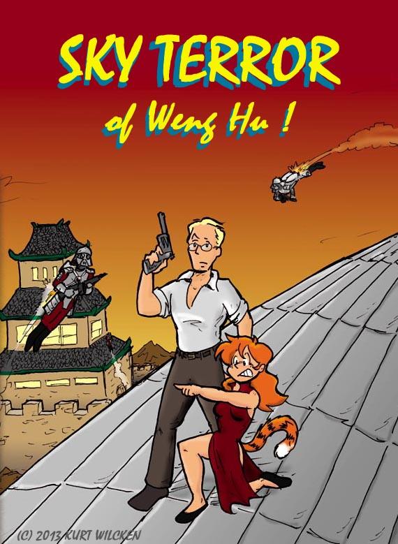 SKY TERROR of Weng Hu:  Cover
